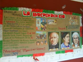 Xxv colegio de bachilleres del estado de veracruz for Diario mural fiestas patrias chile